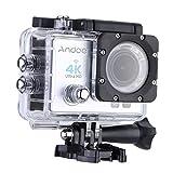 Foto Andoer Action Cam WiFi 4K Full HD 16MP 1080P Subacqueo Action Sport Camera 170° Grandangolare Impermeabile 30m con Custodia Impermeabile e Kit Accessori