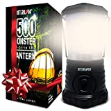 Internova Monster LED Camping Lantern - Battery Powered - Massive Brightness - Perfect for Hurricane - Camp - Emergency Kit...