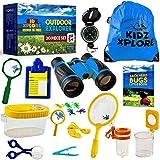 Kidz Xplore-Outdoor Explorer Set, Bug Catching Kit, Nature Exploration Children Outdoor Games Mini Binoculars...