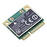 433Mbps Tarjeta de Red WLAN, Tarjeta WIFI PCI-E Banda Dual 2.4G / 5Ghz, Adaptador de Red Inalámbrica PCI Express para Computadora de Escritorio, PC,compatible con Windows 7/10