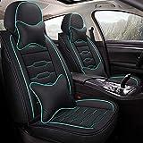 Seat Covers Car Moderno Lado del Diseño For Una Fácil Instalación Ajuste Universal For Coche Camión Furgoneta Y SUV (Color : Azul)