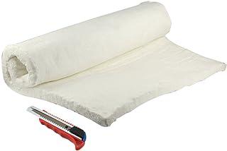 "HM&FC 1""x 24""x 31"" Ceramic Fiber Insulation Blanket 2400F for QuadraFire Wood Stoves, More."