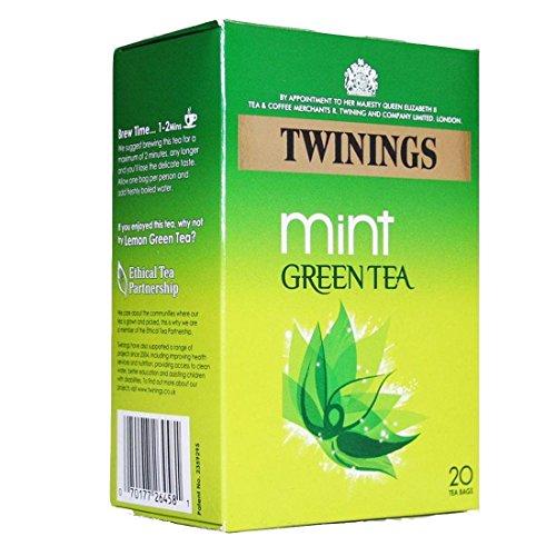 Twinings Green Teas | Pure Light Delicate Mint | 4 x 20 Bags