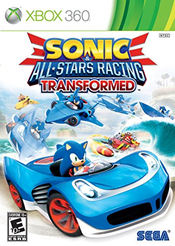 Sonic amp AllStars Racing Transformed  Xbox 360