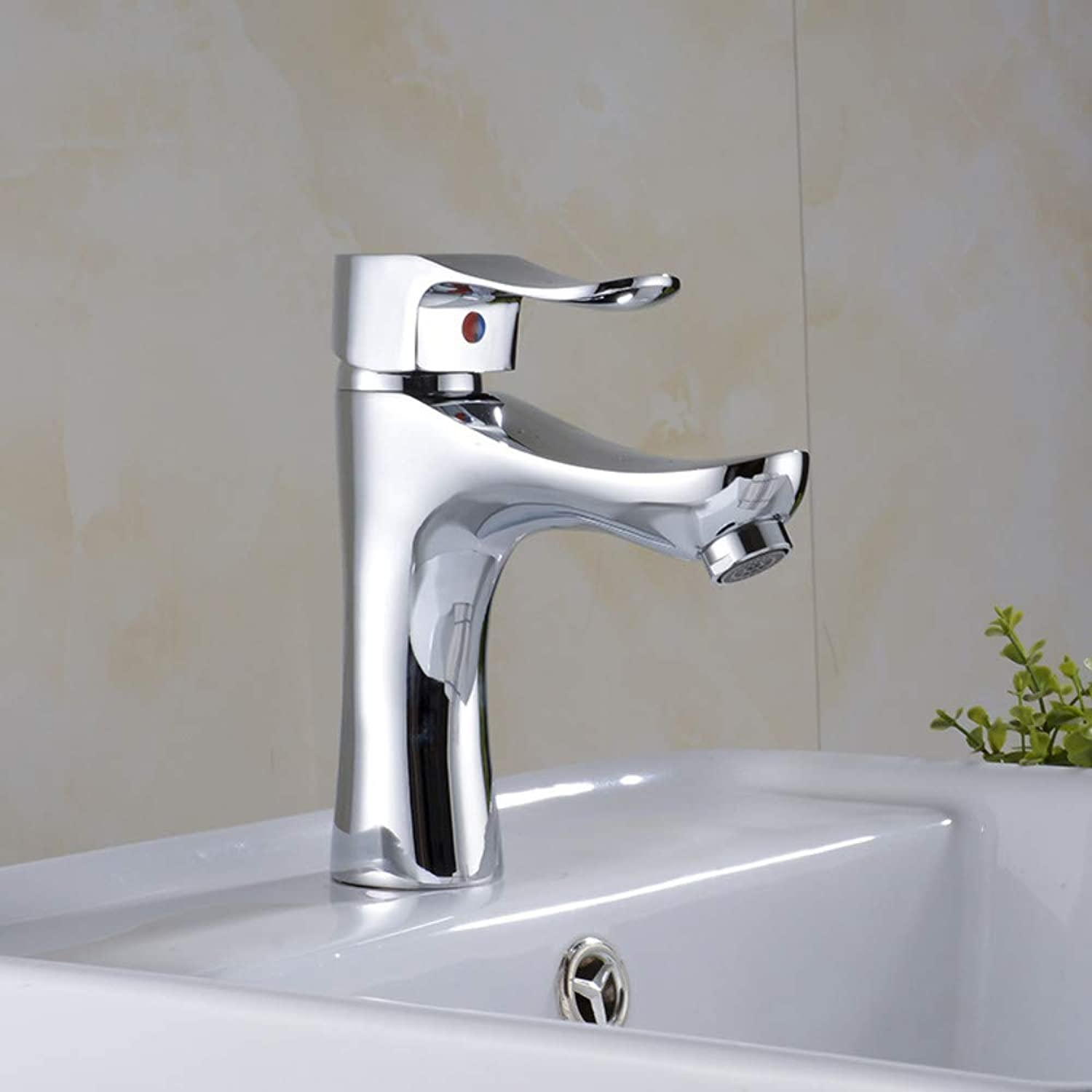 Kitchen Sink Tapbathroom Sink Tap single Hole Basin Faucet Faucet Thumb Single Hole Copper Faucet