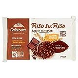 Galbusera - Riso su Riso, Biscotto con Cereali,Riso e Cacao, 220 g...