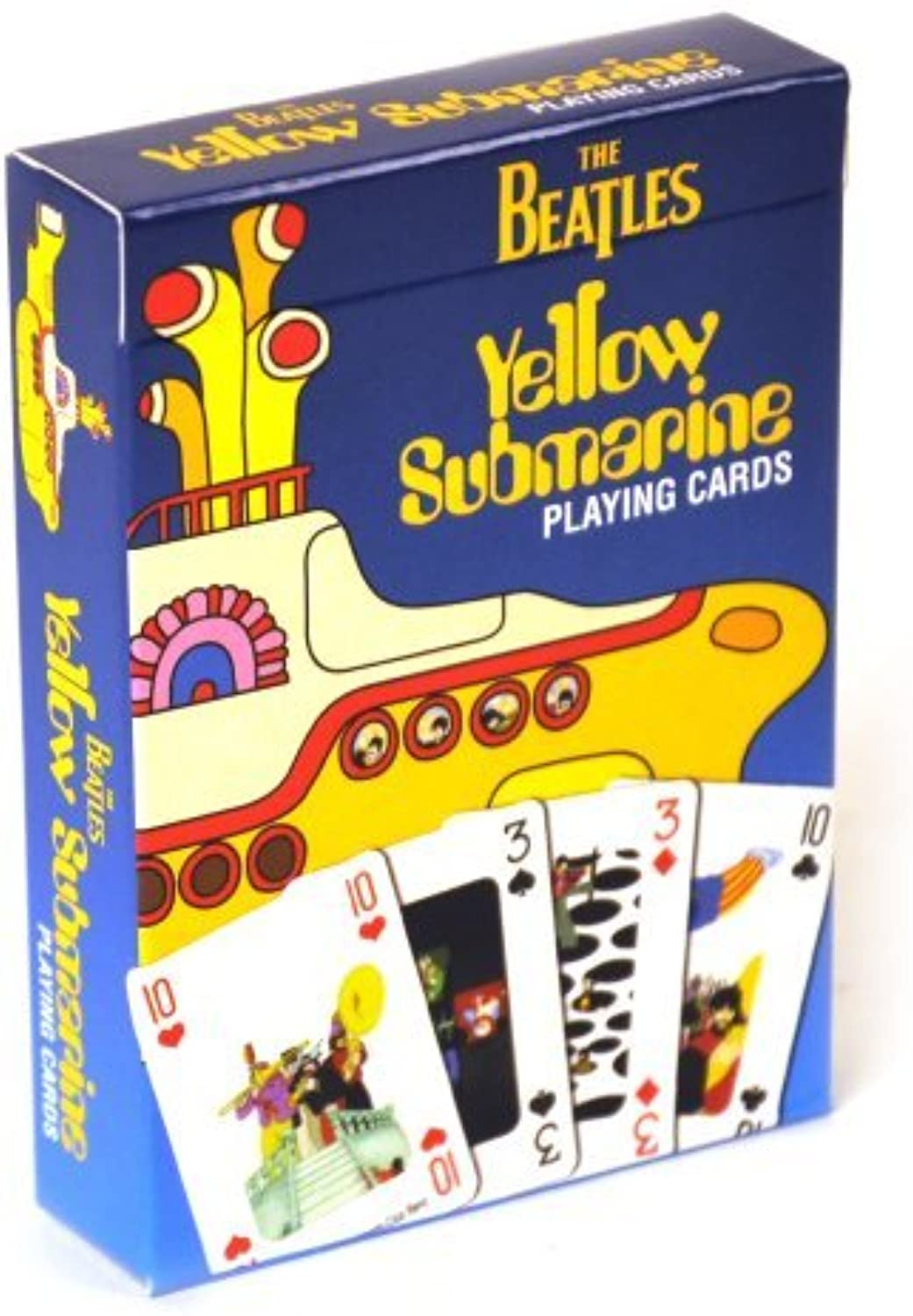 The Beatles Yellow Submarine Playing Cards by Subafilms