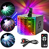 DJ Lights Powcan Disco Lights LED Stage Lighting RGB Party Lights Sound Activated