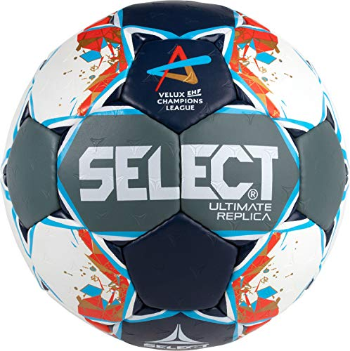SELECT Ultimate Replica Ball Unisex, Uni, Grey/Blue/red, junior(2)