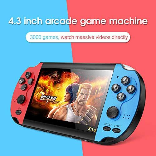 Mini Nostalgic Classic Double Rocking Spielekonsole, empfindliche Steuerung, Unterstützungskamera, geeignet für Erwachsene, Kinder, Jugendliche