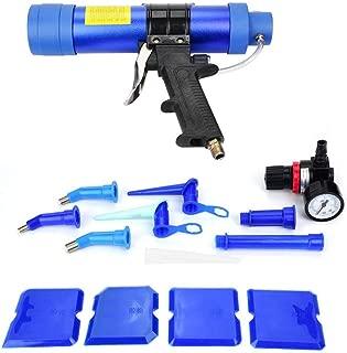 Pistola para calafatear, pistola de aire neumática ajustable del sellador del pegamento del sellador del pegamento de cristal 310ML