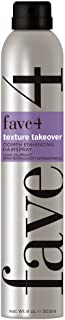 fave4 hair Texture Takeover Oomph Enhancing By for Unisex - Hair Spray