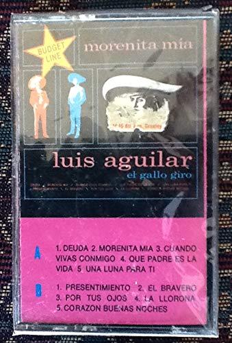 Luis Aguilar - El Gallo Giro (RCA / Bertelsmann de Mexico, 9982-4-RL, Audiocassette, 1989)