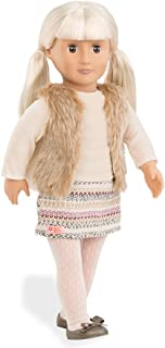 "Our Generation Aria 18"" Doll With Hooded Furry Vest"