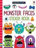 Monster Faces Sticker Book (Usborne Minis)