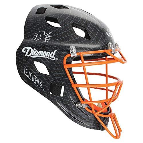 Diamond Edge Pro Baseball/Softball Catcher's Helmet