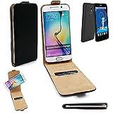 K-S-Trade® Für Haier Phone L52 Flipstyle Schutz Hülle 360° Smartphone Tasche, Schwarz, Hülle Flip Cover Für Haier Phone L52