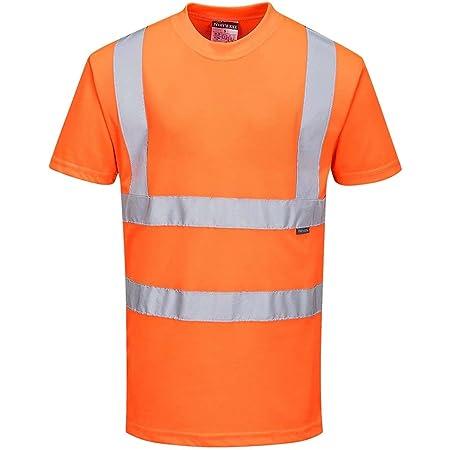Portwest RT23 - Hi-Vis Camiseta, color naranja, talla 4XL
