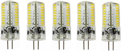 Led Bulbs, 10pcs G4 4W LED Bulbs Light Spotlight AC12V/DC12-24V 280 Lumen Replacement of 30W Halogen Lamp Bulbs led lights...
