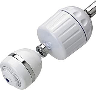 Sprite HO2-WH-M High Output 2 Universal Filter Housing with Additional Shower Head, White