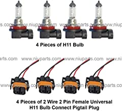 Connector Plug Pigtail 10.6 18 ga for 862 881 886 888 889 891 894 896 898 bulbs