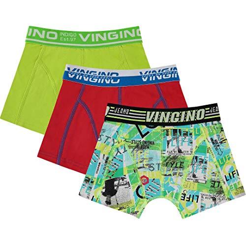Vingino Lifestyle B 121-1 Boxershorts 3 Pack neon Green SS 20
