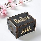 DAUERHAFT Caja de música clásica de Madera Caja de música para...