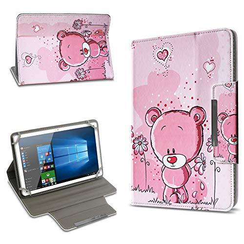 UC-Express Jay-tech TXE10DS TXE10DW XE10D TXE10DW2 Hochwertige Tablet Schutz Hülle Tasche Universal mit Standfunktion hochwertiges Kunstleder Cover Universal Case, Motiv:Motiv 5