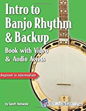 Intro to Banjo Rhythm & Backup Book with Video & Audio Access