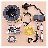 Rendimiento estable Bobina de encendido de carburador para S-TIHL MS251 MS 251 Filtro de aceite de combustible de aire Lline Sujipador Kit Motosierra 1143 120 0617 Durable