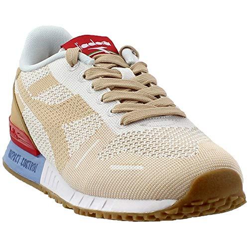 Diadora Womens Titan Weave Sneakers Shoes Casual - Beige - Size 5.5 M