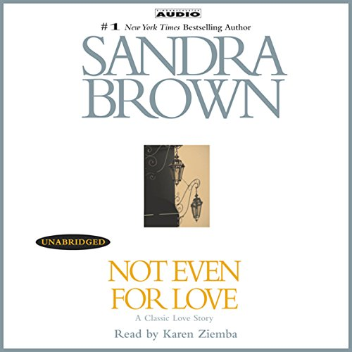 Not Even for Love audiobook cover art