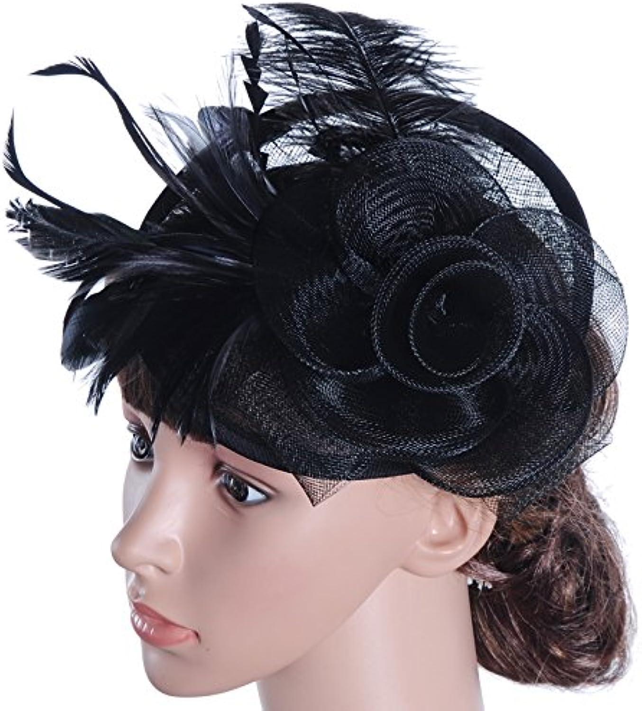 GTVERNHEuropean Style Wedding Headdress England Flax Hat AllMatch Bow Jacobs Hat Bride Decoration
