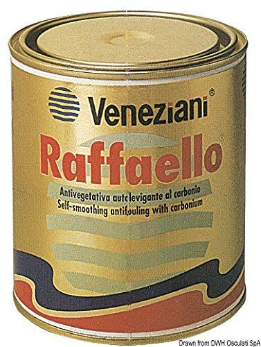 Veneziani Raffaello Antivegetativa idrofila autolevigante additivata con carbonio, colore: Blu, size: 2,5 lt