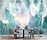 Fotomurales Plumas Brillantes Fotomural Para Paredes   Mural   Vinilo Decorativo Decoración Comedores, Salones, Habitaciones. (W246xH248cm)