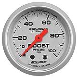 Auto Meter 4306 Ultra-Lite Mechanical Boost Gauge