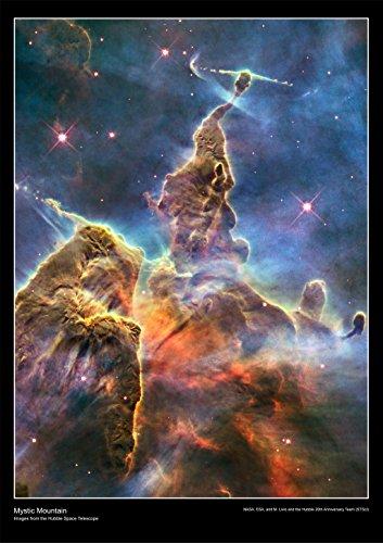 """Hubble-Teleskop Poster """"Mystic Mountain"""" aus laminiertem Papier [DS9], Papier, a2"""