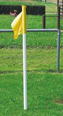 Saller 4er Set Fahnentücher Eckfahne Fußball