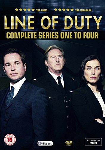 Line of Duty - Series 1-4 [DVD] [Reino Unido]