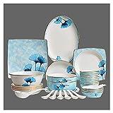 ZWJ Copas Y Platillos Set Nordic Ceramic Vajilla Traje De...