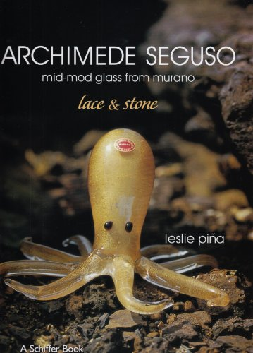 Archimede Seguso: Mid-mod Glass from Murano: Lace & Stone