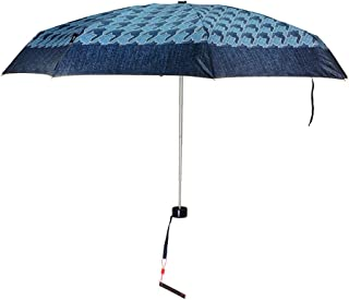GHMOZ Ultra-Light Portable Folding Umbrella Rain and Rain Umbrellas Lightweight Mini Student Umbrellas Three Styles Available (Color : B)