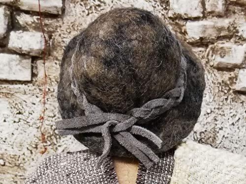 Handgefilzter Hut für Egli-Figur, Krippenfigur, biblische Erzählfiguren