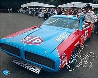 Richard Petty Signed Photo - 8x10 Racing Image #SC16 - Autographed NASCAR Photos