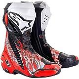 Alpinestars Supertech R Boots Vented Haga 20 2020 - Botas de motorista, talla 44 EU