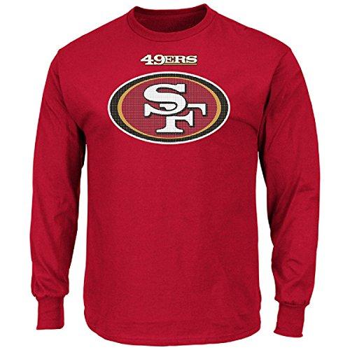 Majestic NFL Football Shirt San Francisco 49ers Langarm Critical Victory Long Sleeve (S)