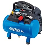 Draper 02115 6L Oil-Free Air Compressor (1.2kW)