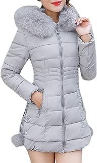 Women Leopard Print Coat Ladies Winter Warm Thick Faux Fur Long Parka Jacket Slim Lapel Outwear