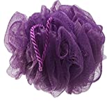 WELLSKIN Luxury Bathing Round Loofah for Men and Women (PURPLE)