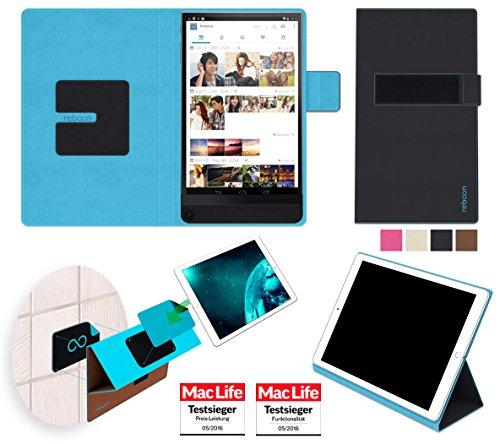 reboon Hülle für Dell Venue 8 7000 Tasche Cover Case Bumper | in Schwarz | Testsieger